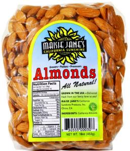 Maisie Jane's Natural Almonds