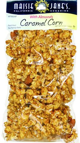 Caramel Corn and Almonds