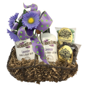 Love of Lavender Gift Basket