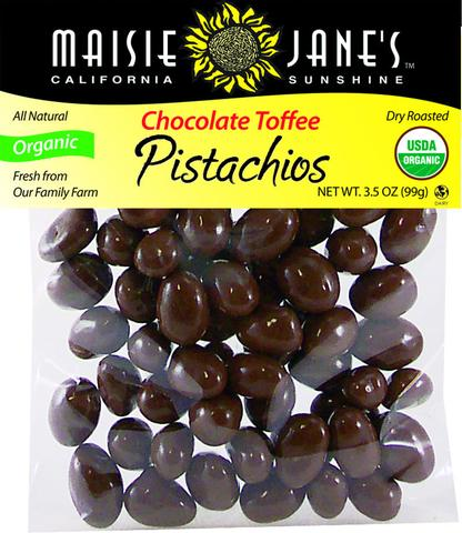 Chocolate Toffee Pistachios
