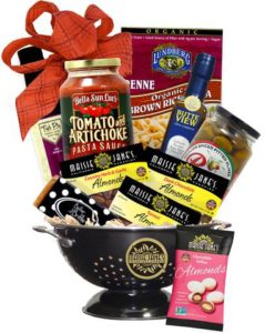 Deluxe Chico Italian Dinner Gift Basket
