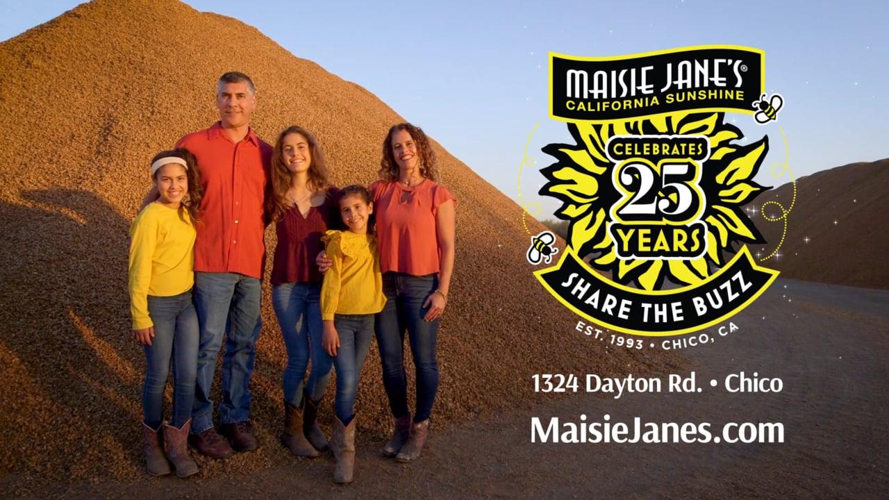 2018 is Maisie Jane's 25th Anniversary
