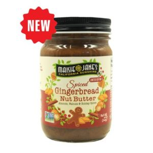 Gingerbread Nut Butter