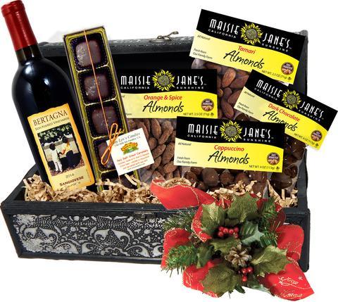Cloud Wine Gift Basket
