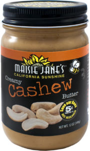 Creamy Cashew Nut Butter