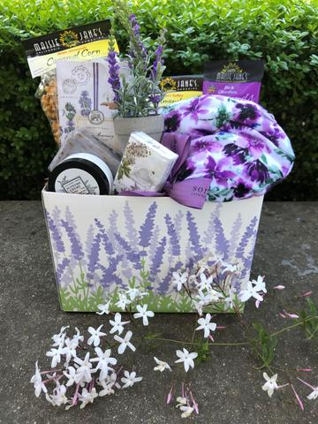 Mom's Time Out Gift Basket