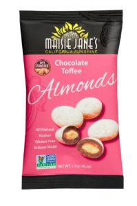 Maisie Jane's Chocolate Toffee Almonds Snack Pack