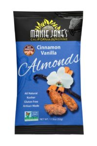 Cinnamon Vanilla Almonds 1.13 oz