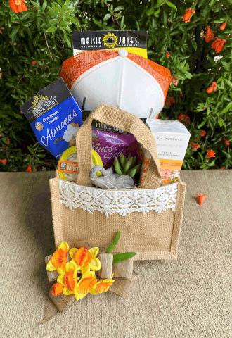 Cool Grad Gift Basket