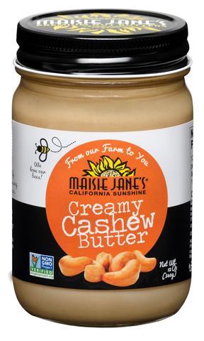 Maisie Jane's Creamy Cashew Butter