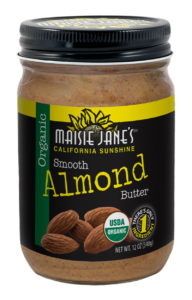 Maisie Jane's Organic Smooth Almond Butter
