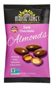Maisie Jane's Dark Chocolate Almonds Snack Pack