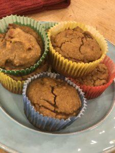 Almond Butter Pumpkin Spice Muffin Recipe Photo