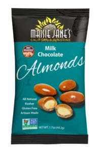 Maisie Jane's Milk Chocolate Almonds Snack Pack