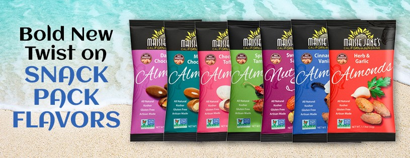 New Almond Snack Packs