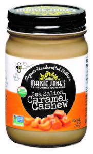 Organic Sea Salt Caramel Cashew Butter
