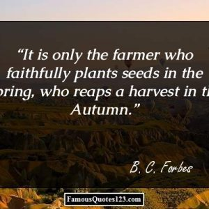 Quote About Farming