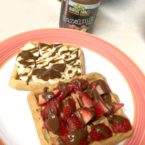 Vegan Waffles with Maisie Jane's Hazelnut Butter