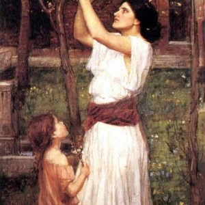 Gathering Almond Blossoms by John W. Waterhouse