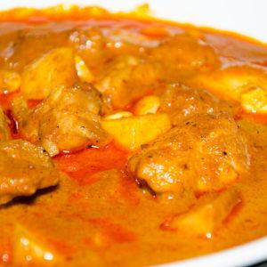 almond butter chicken soup