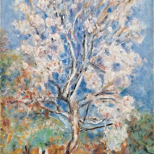 The Almond Tree by Pierre Bonnard