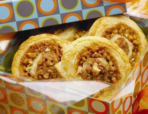 Cinnamon Almond Pastry Swirls
