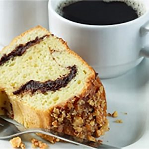 Chocolate Almond Coffee Cake