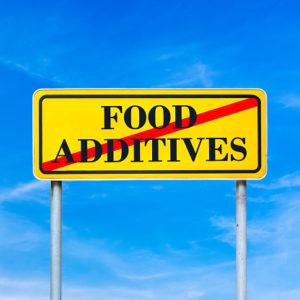 no food additives