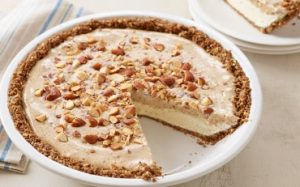 Frozen Almond Butter Pie