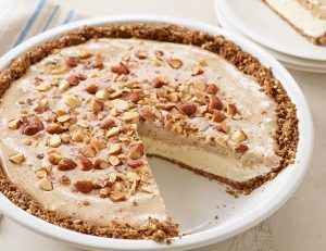 Frozen Almond Butter Pie