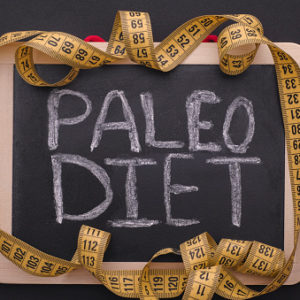 paleo diet on chalkboard