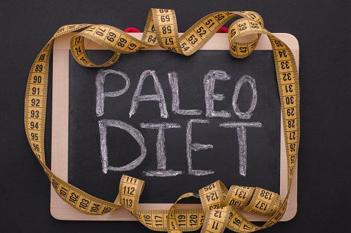 paleo diet on chalkboard