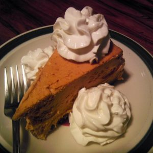 Pumpkin Coconut Cream Pie with Almond Crust