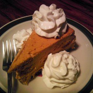 Pumpkin Coconut Cream Pie with Almond Crust