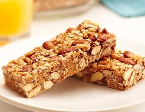 Sweet and Salty Almond Breakfast Bars